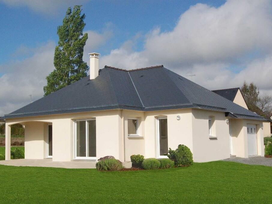 Maison neuve  Maison de plainpied ~ Maison Bois Morbihan