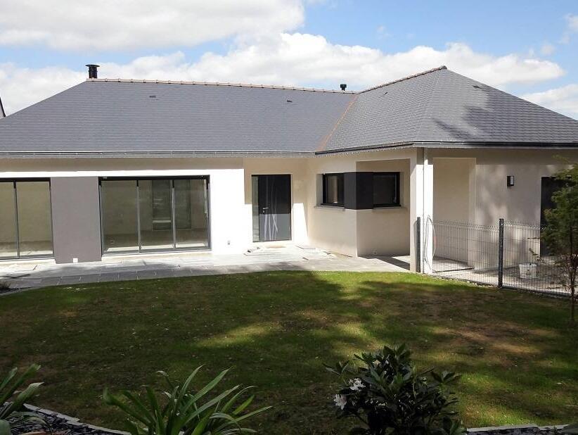 Maison neuve annonces maison bois rt 2012 bbc plain for Immobilier maison neuve