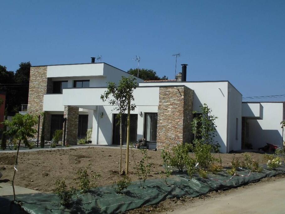 maison moderne en bretagne