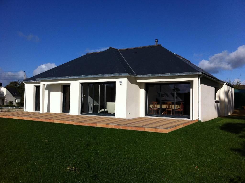 Maison neuve – vente maison bois, RT 2012, plain-pied en Bretagne ...