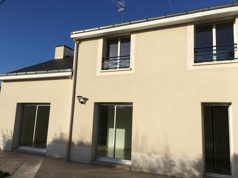 Location Maison 6 Pièces Nantes Pont Du Cens Petit Port 44000