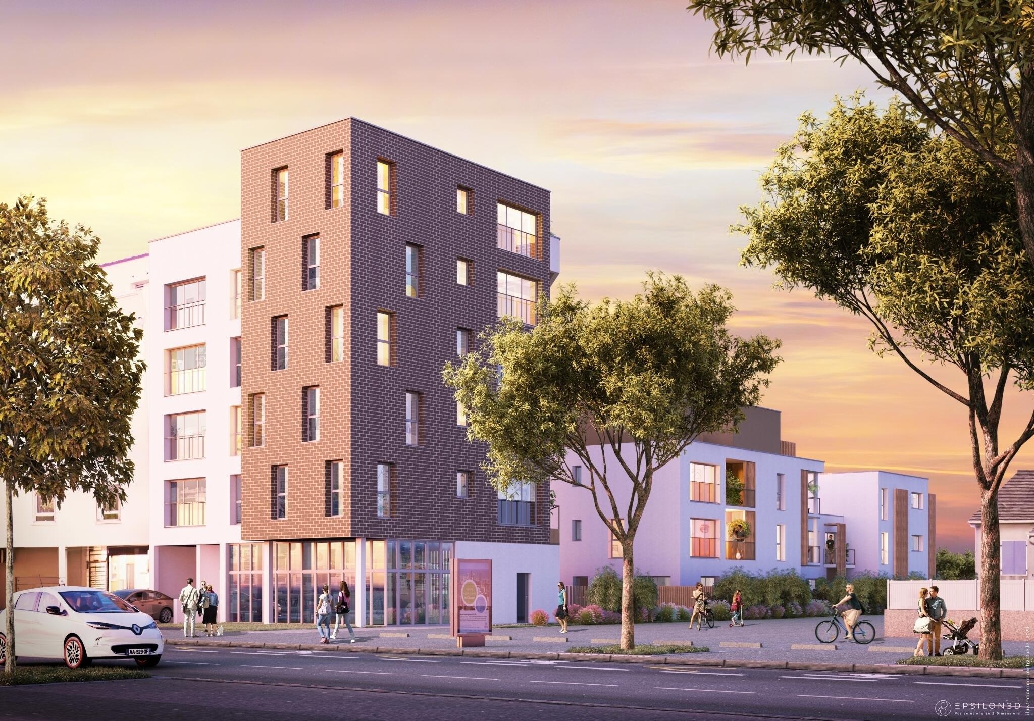 Le Phileas   Immobilier Neuf Nantes Rond